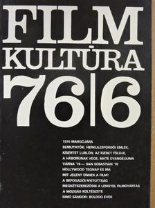 Székely Gabriella - Filmkultúra 1976. november-december [antikvár]