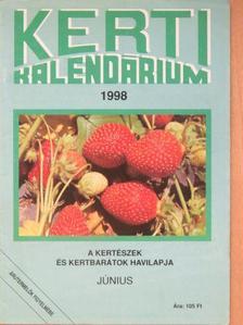 Dr. Koleva Roszica - Kerti kalendárium 1998. június [antikvár]