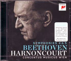 BEETHOVEN - SYMPHONIES 4 & 5 CD HARNONCOURT