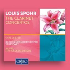 SPOHR - THE CLARINET CONCERTOS 2CD LEISTER