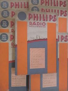 Balogh Ernő - Philips rádió közlemények 1929. (nem teljes évfolyam) [antikvár]