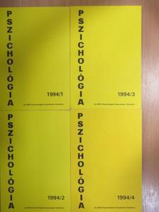 Bakay P. Éva - Pszichológia 1994/1-4. [antikvár]