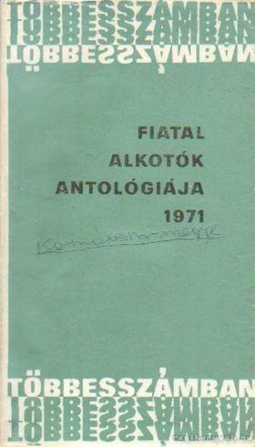 Fiatal alkotók antológiája [antikvár]