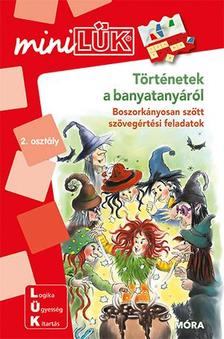 LDI213 - Történetek a banyatanyáról - Boszorkányosan szőtt szövegértési feladatok 2. osztályos kortól