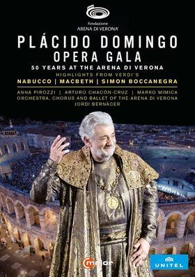 Verdi - OPERA GALA DVD PLÁCIDO DOMINGO