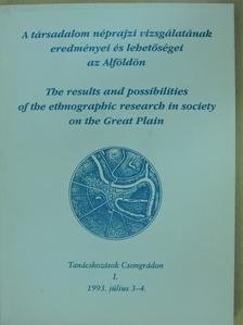 Bencsik János - A társadalom néprajzi vizsgálatának eredményei és lehetőségei az Alföldön [antikvár]