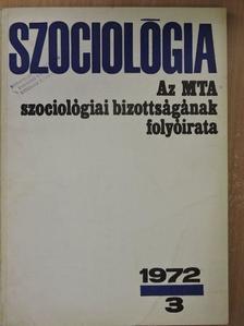 Buda Béla - Szociológia 1972/3. [antikvár]