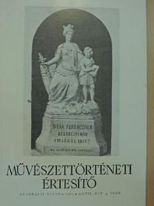 Csongor Dénes - Művészettörténeti Értesítő 1983/4 [antikvár]
