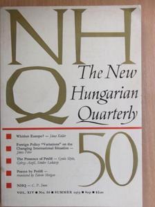 Albert Szent-Györgyi - The New Hungarian Quarterly Summer 1973. [antikvár]
