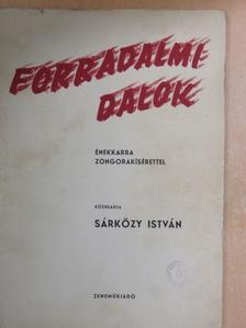 Édes István - Forradalmi dalok [antikvár]