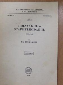 Dr. Tóth László - Holyvák II. (aláírt példány) [antikvár]