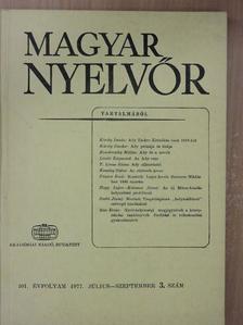 Bán Ervin - Magyar Nyelvőr 1977. július-szeptember [antikvár]