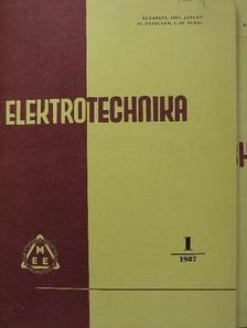 B. Milanov - Elektrotechnika 1987. január-december [antikvár]