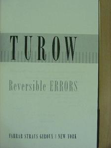 Scott Turow - Reversible errors [antikvár]