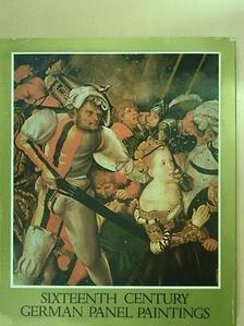 János Végh - Sixteenth century german panel paintings [antikvár]