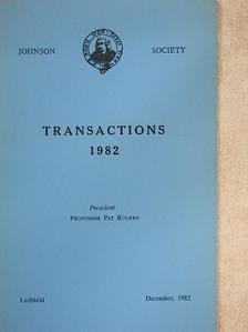 Francis Doherty - Transactions 1982 [antikvár]