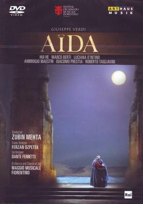 Verdi - AIDA DVD HUI HE, TAGLIAVINI, D'INTINO, BERTI, ZUBIN MEHTA