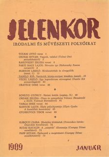 Csordás Gábor - Jelenkor 1989. január [antikvár]
