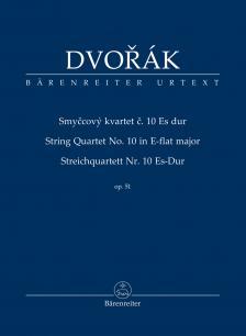 DVORAK - STREICHQUARTETT NR.10 ES-DUR OP.51, TASCHENPARTITUR