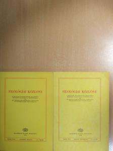 Balassa Iván - Filológiai Közlöny 1983. január-december [antikvár]