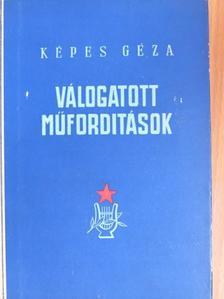 Adam Mickiewicz - Válogatott műfordítások [antikvár]