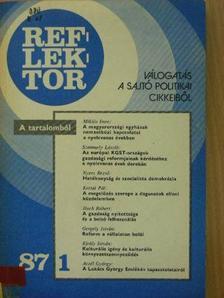 Bessenyei Zoltán - Reflektor 1987/1 [antikvár]