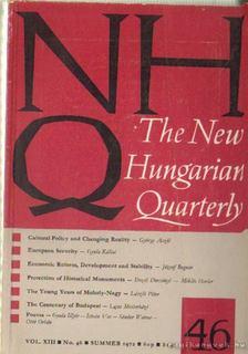 BOLDIZSÁR IVÁN - The New Hungarian Quarterly No. 46 [antikvár]