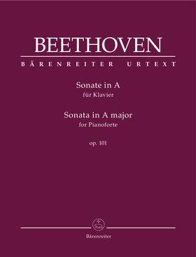 BEETHOVEN - SONATE IN A FÜR KLAVIER OP.101