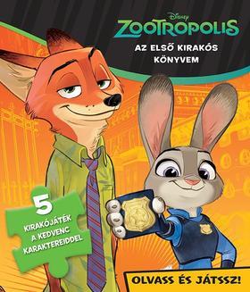.- - Disney - Szivacsos kirakókönyv - Zootropolis