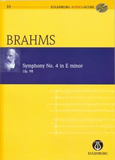 BRAHMS... - SYMPHONY NO.4 IN E MINOR OP.98 POCKET SCORE + CD