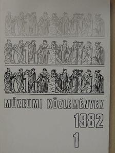 Agócsy Pál - Múzeumi közlemények 1982/1. [antikvár]
