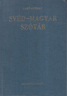 Fehér József, Lakó György - Svéd-magyar szótár [antikvár]