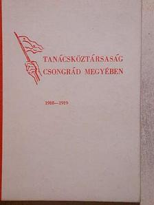 Fazekas László - Tanácsköztársaság Csongrád megyében [antikvár]