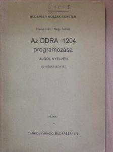 Havas Iván - Az Odra-1204 programozása [antikvár]