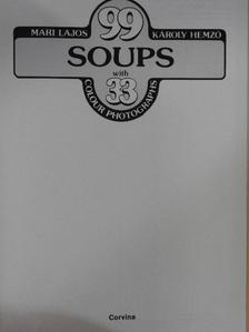 Hemző Károly - 99 soups with 33 colour photographs [antikvár]