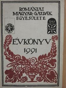 Albert Sándor - A Romániai Magyar Gazdák Egyesületének Évkönyve 1991 (dedikált példány) [antikvár]