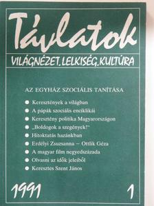 András Imre - Távlatok 1991/1. [antikvár]