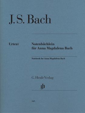 J. S. Bach - NOTENBÜCHLEIN FÜR ANNA MAGDALENA BACH FÜR KLAVIER URTEXT (E.-G.HEINEMANN)