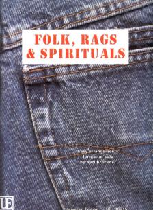 FOLK, RAGS & SPIRITULS. EASY ARRANGEMENTS FOR GUITAR SOLO BY KARL BRUCKNER