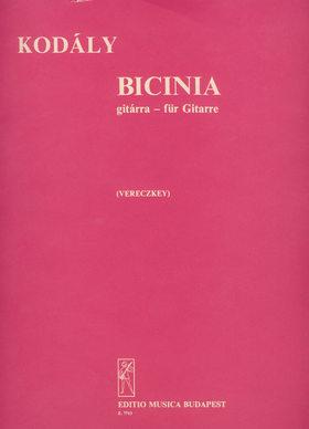Kodály Zoltán - BICINIA GITÁRRA (VERECZKEY LÁSZLÓ)