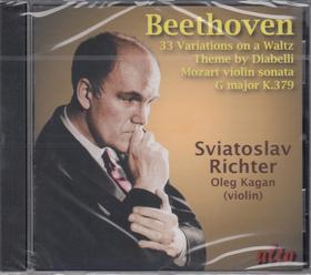 BEETHOVEN-MOZART - DIABELLI VARIATIONS - VIOLIN SONATA CD RICHTER, KAGAN