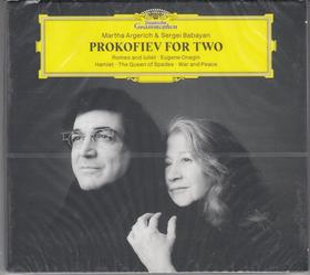 PROKOFIEV - PROKOFIEV FOR TWO CD ARGERICH, BABAYAN