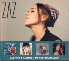 Zaz - COFFRET 4 ALBUMS + UN POSTER 4CD+DVD ZAZ