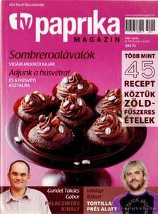 ZSIGMOND GÁBOR - TV paprika magazin 2009. április [antikvár]