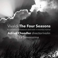 Vivaldi - THE FOUR SEASONS CD ADRIAN CHANDLER
