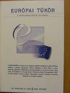 Czuriga Eszter - Európai Tükör 2008. október [antikvár]