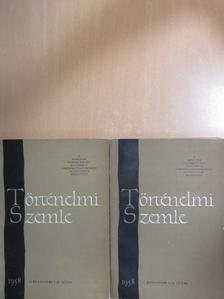 Barta István - Történelmi Szemle 1958/1-4. [antikvár]