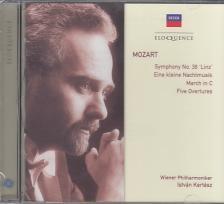 MOZART - SYMPHONY NO.36/EINE KLEINE NACHTMUSIK/MARCH IN C/FIVE OVERTURES CD