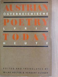 Erich Fried - Austrian Poetry Today [antikvár]