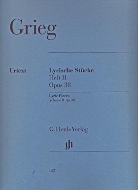 GRIEG - LYRISCHE STÜCKE HEFT II OP.38 FÜR KLAVIER URTEXT (EINAR STEEN-NÖKLEBERG & ERNST-GÜNTER HEINEMANN)